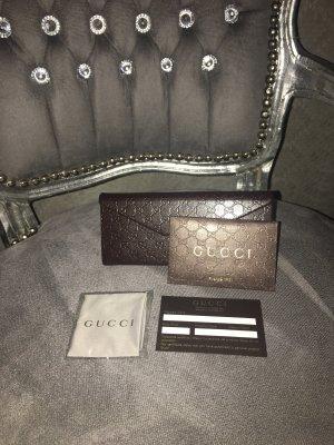 Gucci Sunglasses dark brown leather