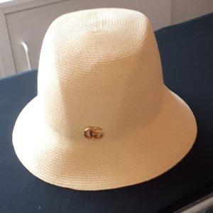 Gucci Cappello di paglia crema