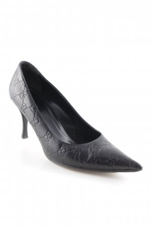 Gucci Pointed Toe Pumps black business style