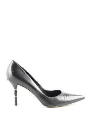 Gucci Spitz-Pumps schwarz Elegant