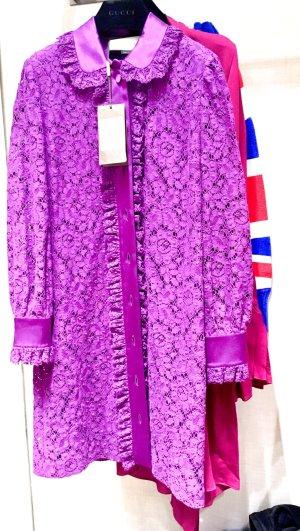 Gucci Spitzes Kleid
