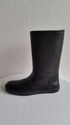 Gucci Botas bajas negro Cuero