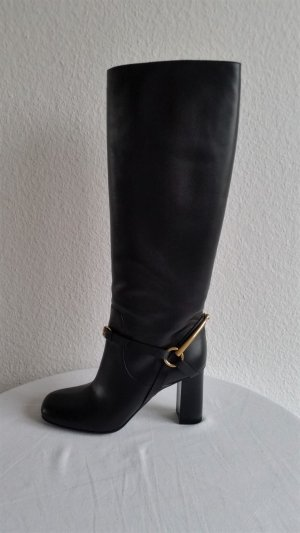 Gucci, Stiefel, Leder, schwarz, EU 39, neu, € 1.500,-