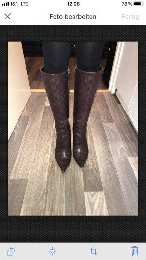 Gucci Laarzen met hoge hakken veelkleurig