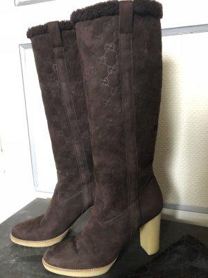 Gucci Heel Boots multicolored