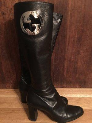 Gucci Stiefel schwarz