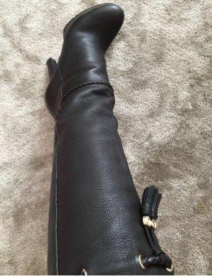 Gucci Stiefel schwarz, Größe 38, top Zustand