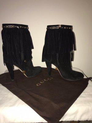 Gucci Stivaletto con zip nero