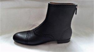 Gucci, Stiefeletten Miro Soft, Leder, schwarz, 39,5, neu