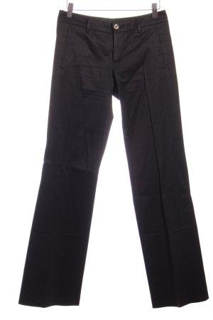 Gucci Stoffhose schwarz schlichter Stil