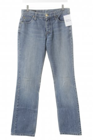 Gucci Straight Leg Jeans cornflower blue casual look