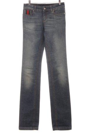 "Gucci Straight-Leg Jeans ""new flare"" blau"