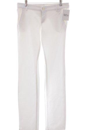Gucci Jeans met rechte pijpen wit casual uitstraling