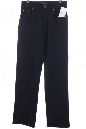 Gucci Stretchhose dunkelblau Casual-Look