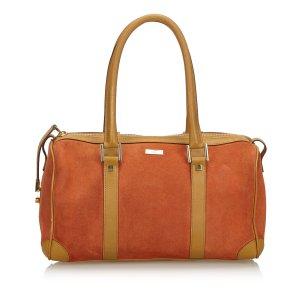 Gucci Handbag orange suede