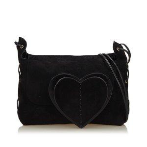 Gucci Suede Leather Shoulder Bag