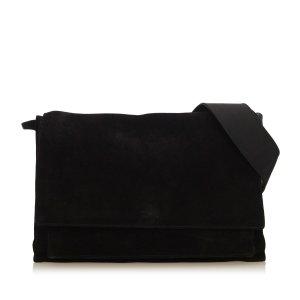 Gucci Suede Messenger Bag