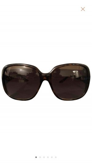 Gucci Oval Sunglasses dark brown
