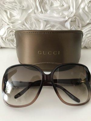Gucci Zonnebril lichtbruin-brons