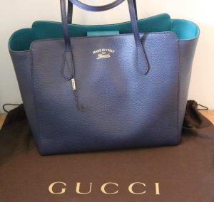 Gucci Comprador azul oscuro-azul cadete Cuero