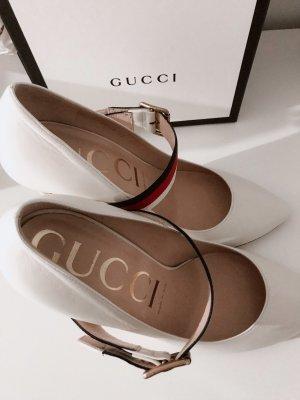 Gucci Tacones altos blanco Cuero