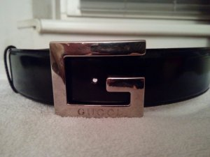 Gucci Waist Belt black leather