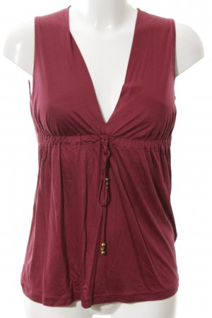 Gucci Tanktop rood casual uitstraling