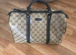 Gucci Handbag brown-cream
