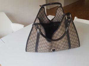 Gucci Handbag grey brown