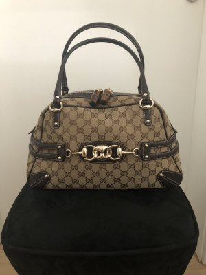 Gucci Bag black brown leather