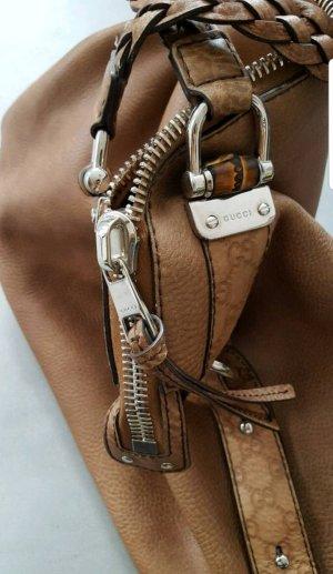 Gucci Shopper zandig bruin Leer