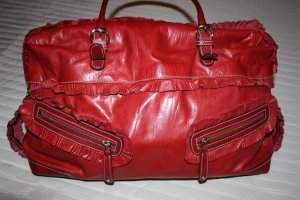 Gucci Bag red leather