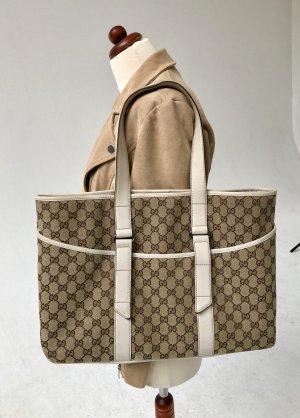 Gucci Tasche , Gucci Shopper , mit Leder Henkeln original
