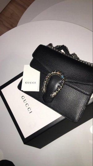 Gucci Mini Bag black leather
