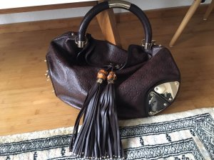 Gucci Pouch Bag dark brown