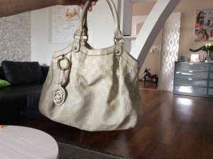 Gucci Handbag light grey leather