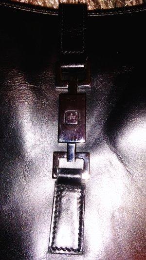 Gucci Tasche schwarz/silber