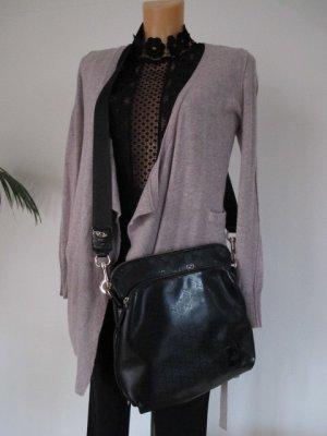 Gucci Crossbody bag black-silver-colored