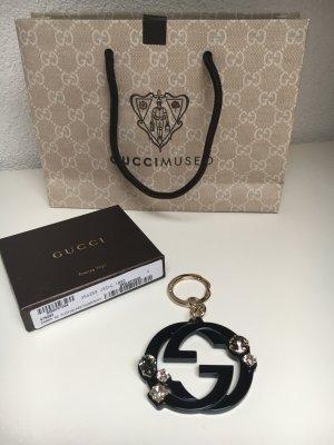 Gucci Colgante negro-color plata