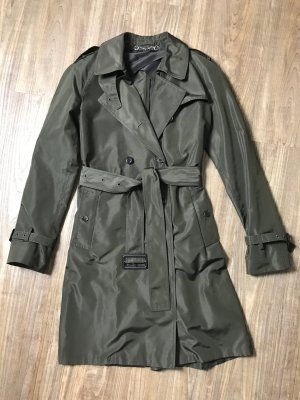 Gucci Trenchcoat in grün Gr. IT 44 / D 40
