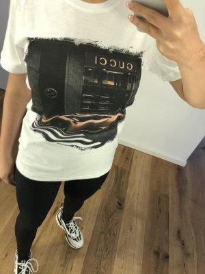 Gucci T-shirt wit-grijs