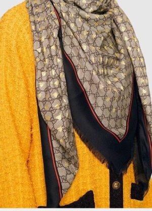 Gucci Tuch groß Bienen Gold neu Original Dionysos