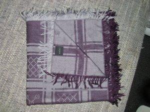GUCCI Tuch in grau-lila