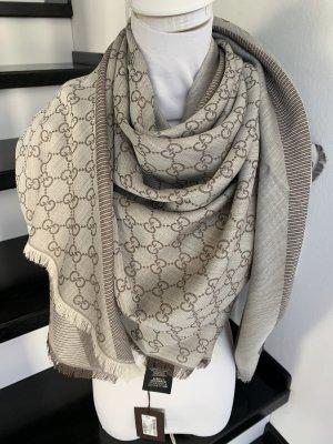 Gucci Wollen sjaal beige-lichtbruin