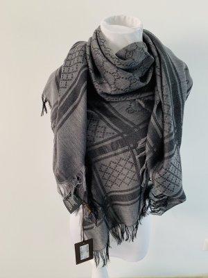 Gucci Woolen Scarf anthracite-grey