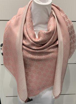 Gucci Wollen sjaal stoffig roze-rosé