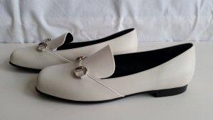 Gucci, Twiggy Loafers, Leder, off white, EU 39, neu, € 550,-