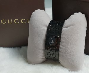 Gucci Watch With Metal Strap black-anthracite