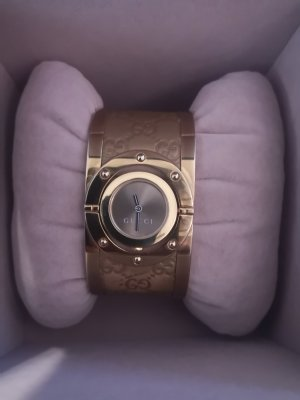 Gucci Analog Watch bronze-colored-gold-colored