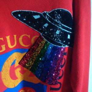 Gucci Sweatshirt rood Katoen